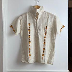 100% linen shirt 👕